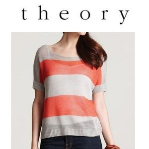 Theory Light Linen Sweater